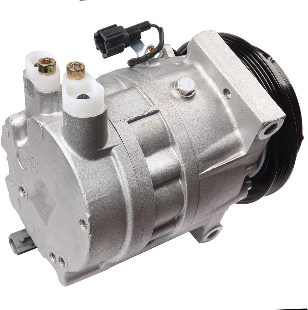 cciyu AC Compressor and A//C Clutches Set for Infiniti FX35 2003-2008 Replacement fit for CO 11149RW Auto Repair Compressors Assembly