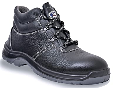 better good selling clearance sale Allen Cooper AC-1436 High Ankle Safety Shoe, Double Density DIP-PU ...