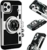 New Emily In Paris Cámara Vintage Phone Case, Fundas Modern 3D Vintage Style Camera Design Silicona Funda, Carcasa para…