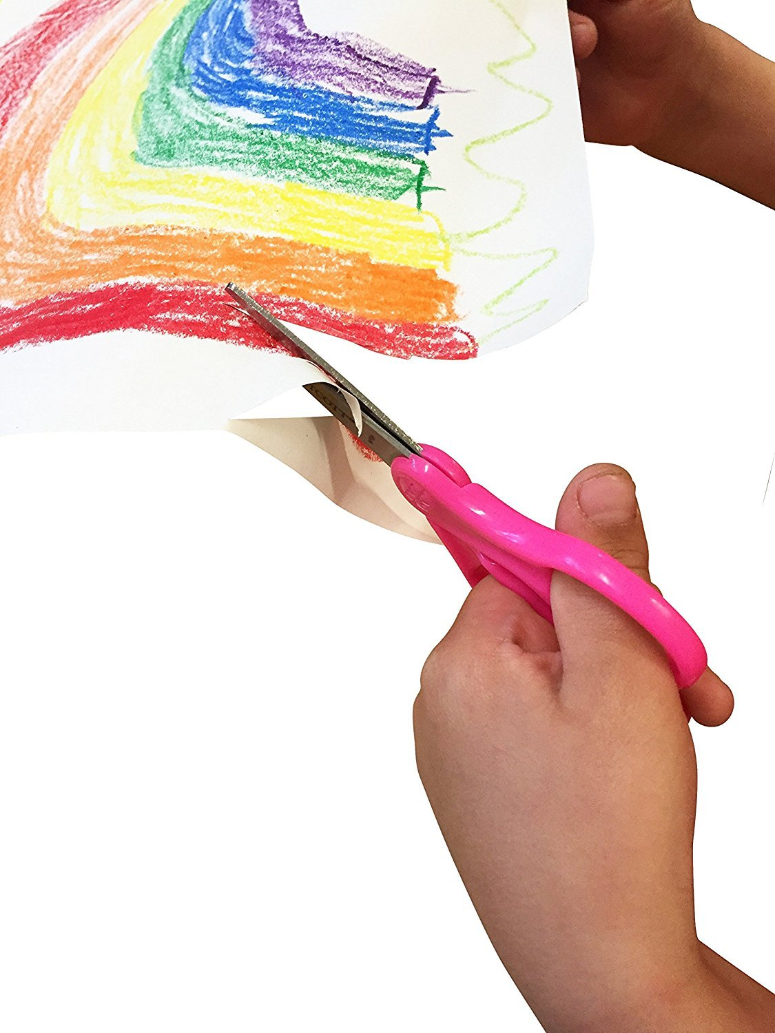 Westcott Right or Left Handed Kids Scissors, 5-Inch. Blunt, Assorted Colors (13130) by Westcott (Image #6)