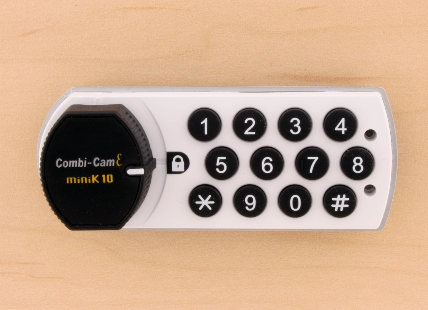 FJM Security Products 7910-K10-HRH-WHT Combi Cam E Electronic Cabinet Lock, White by FJM Security (Image #5)