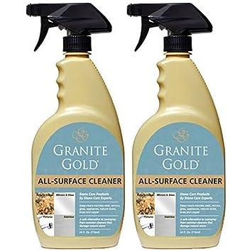 Amazon.com: Granito oro spray limpiador para todas las ...