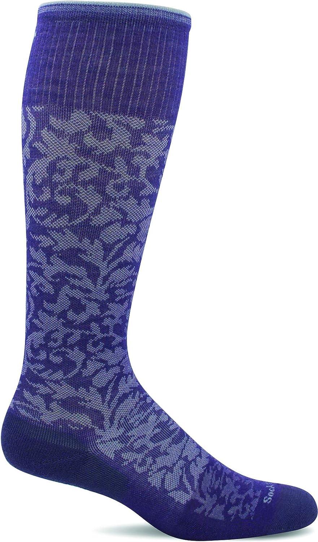 SOCKWELL Damen Damast Kompression Socken