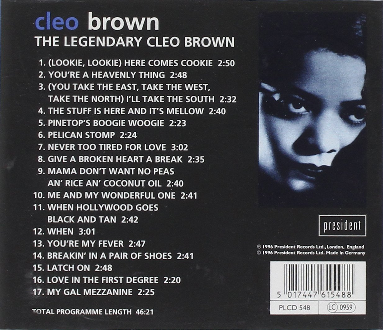 The Legendary Cleo Brown