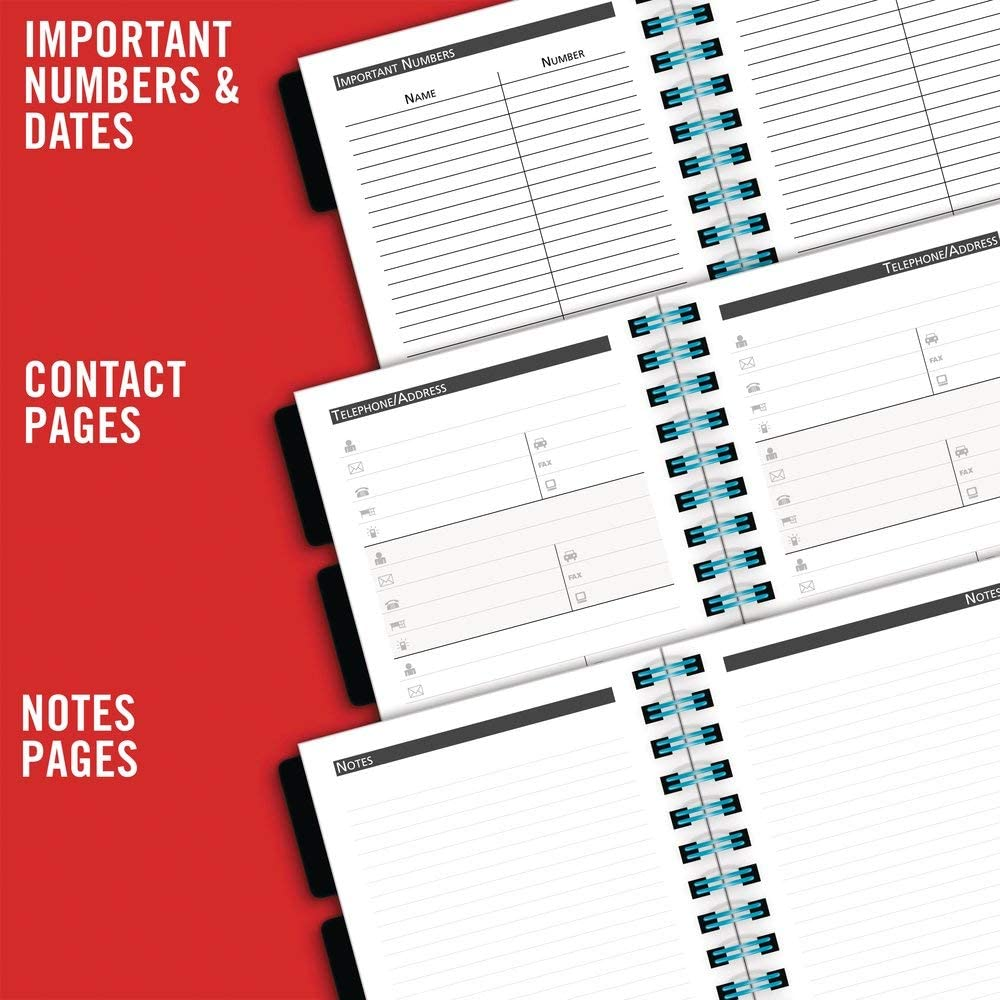 Mead 2019-2020 Academic Year Weekly & Monthly Planner, Pocket, 3-1/2