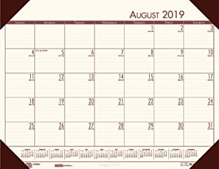 product image for House of Doolittle 2019-2020 Academic Desk Pad Calendar, EcoTones, Cream, 18.5 x 13 Inches, August - July (HOD012541-20)