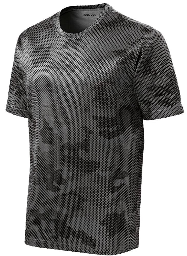 Mens Or Youth CamoHex All Sport Moisture Wicking Shirts Youth XS-Adult 4XL USAL001202015624