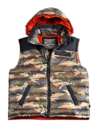 best website 82e82 155c2 Alpha Industries Expedition Down Vest Herren Weste ...
