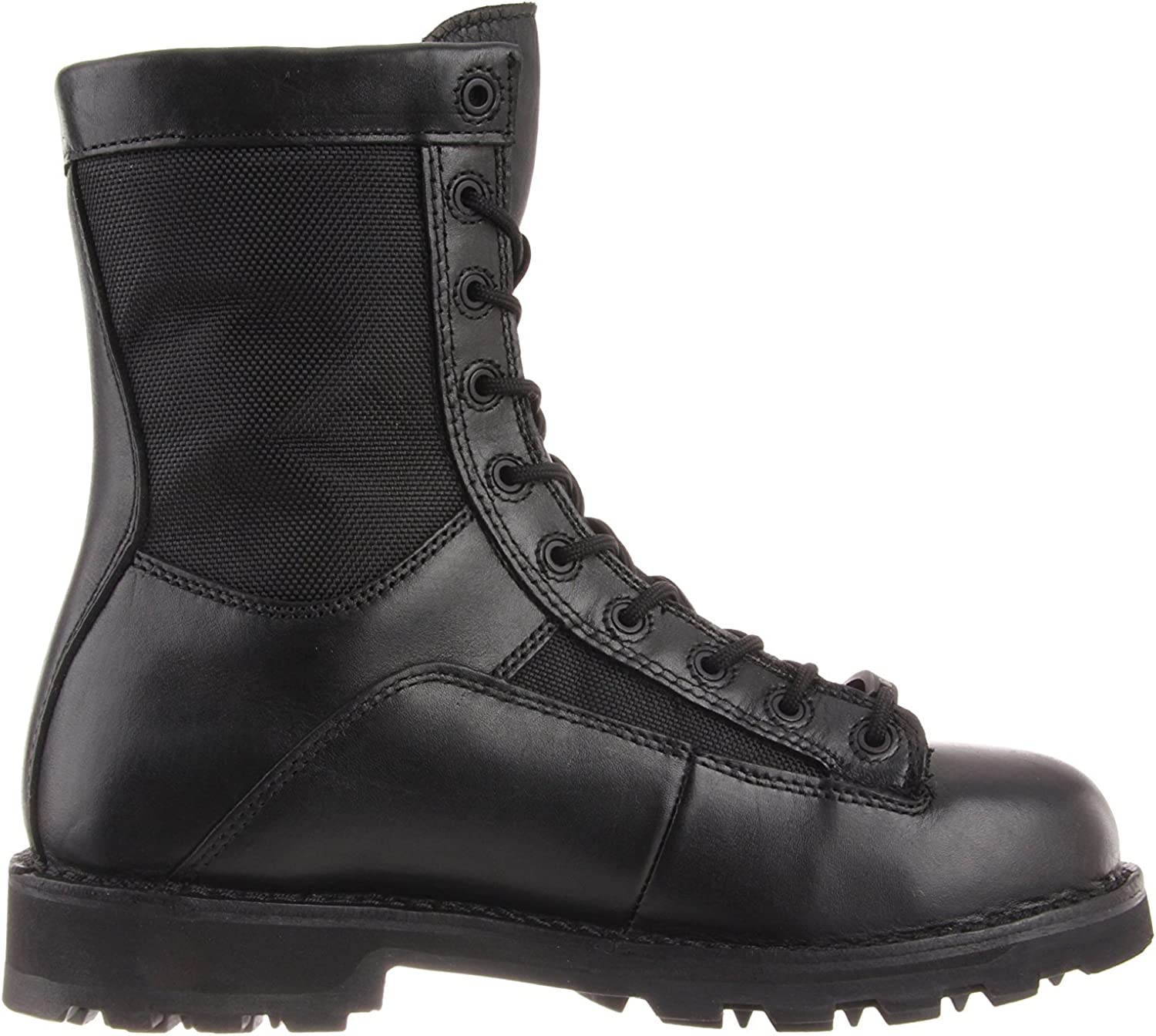 Bates Men's Defender 8 Inch Lace to Toe Waterproof Waterproof Boot Black