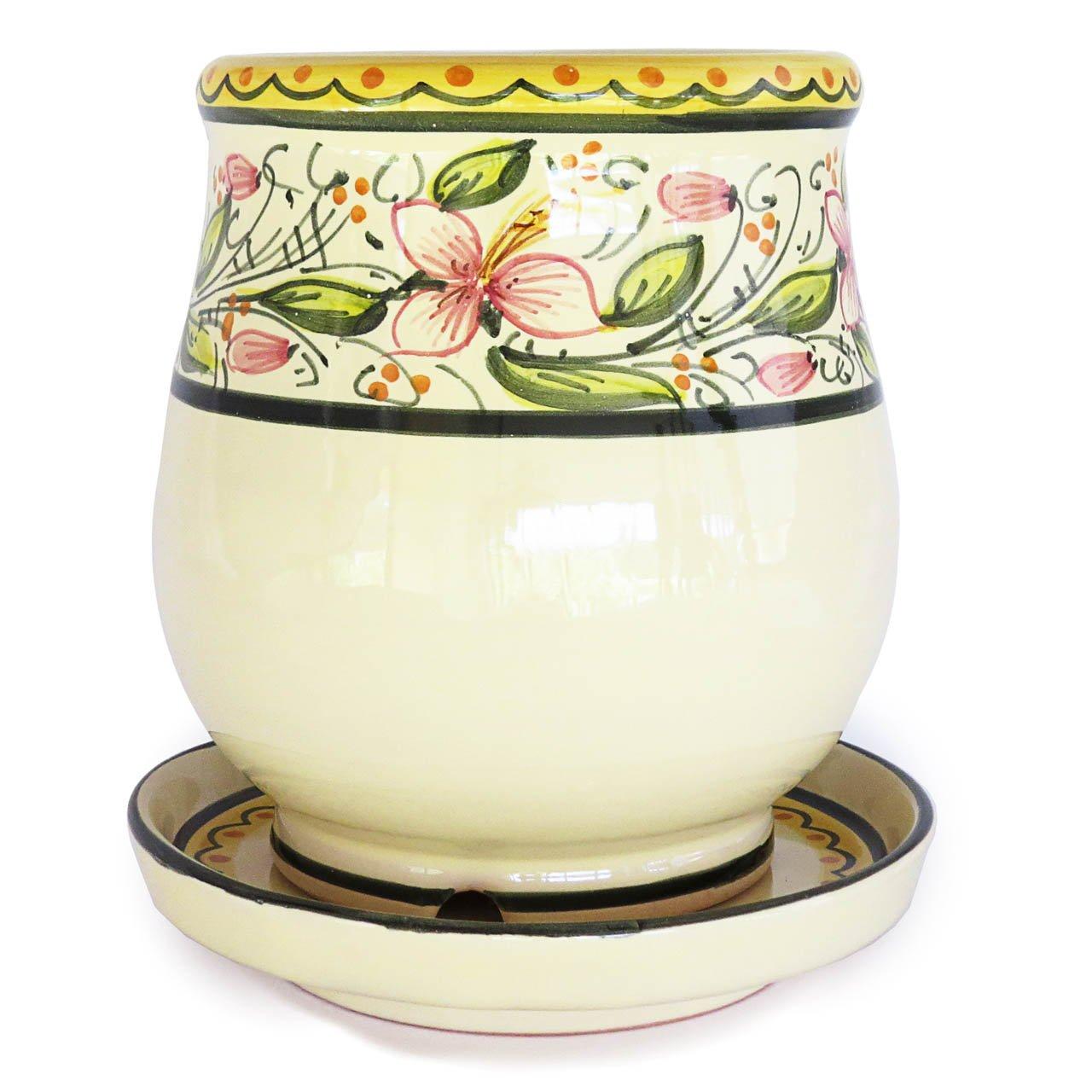 Scolaposate con piattino Ceramiche Liberati