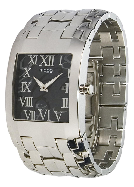 Moog Paris - Jewel Rain - Damen Armbanduhr Silber aus Edelstahl - Armband Silber aus Edelstahl - in Frankreich hergestellt -