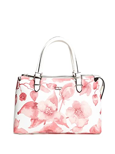 b56cc27bd1 Amazon.com  GUESS Factory Women s Wonderful Printed Satchel  Shoes