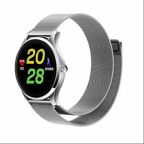 Smart Watch,Reloj Deportivo Reloj Inteligente de Pulsera con pantalla táctil,podómetro,monitoreo