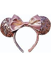 Minnie Mouse Ears Rose Gold Walt Disney World Authentic Merchandise