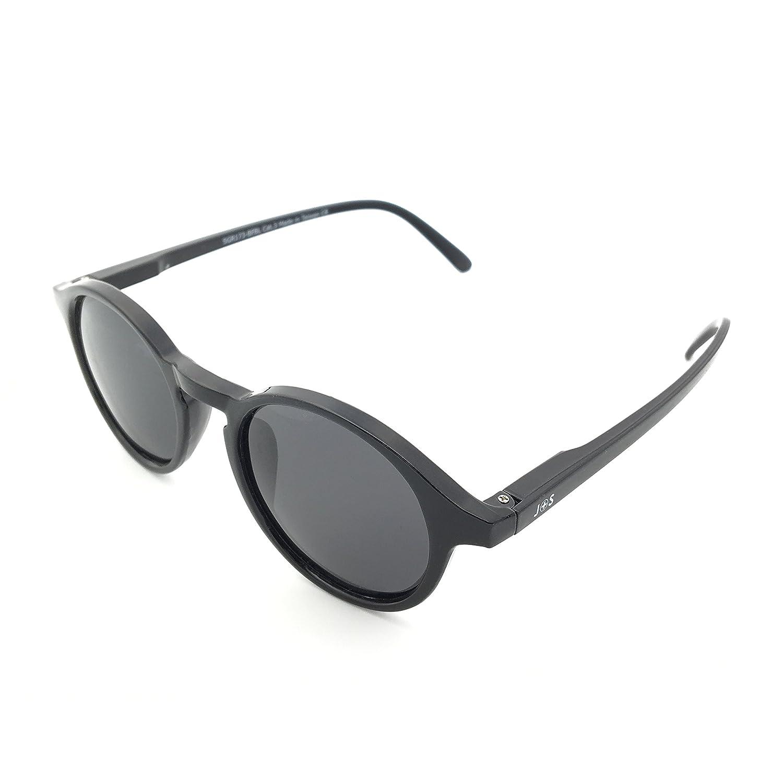 Amazon.com: J+S Hali - Gafas de sol redondas con diseño de ...