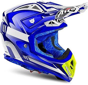 Airoh Aviator 22 Cairoli Otto Biano Cross Motorbike Helmet S Airoh