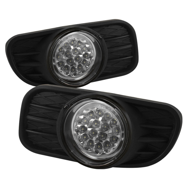 Amazon.com: Spyder Auto FL-LED-JGC99-C Jeep Grand Cherokee Clear LED Fog  Light: Automotive