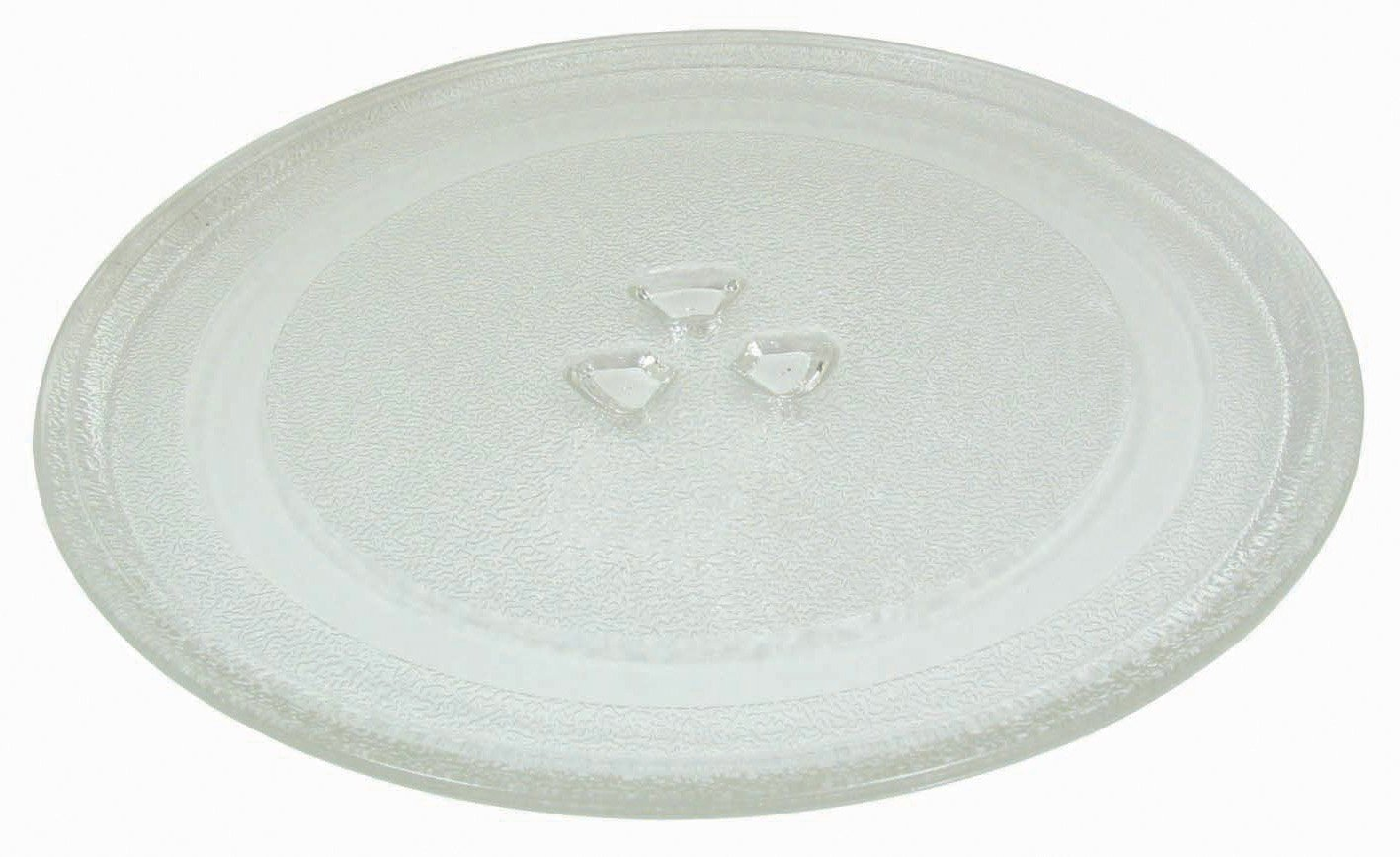 Small 9.6''/24.5cm Microwave Glass Plate/Microwave Glass Turntable Plate Replacement - For Small Microwaves by Impresa Products (Image #1)