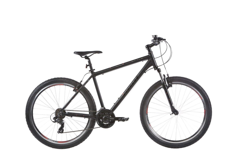 Trinkflasche Federgabel A-Head Vorbau inkl Ultrasport Hardtail Mountainbike 26 Zoll mechanische Scheibenbremsen 21-Gang Shimano-Kettenschaltung