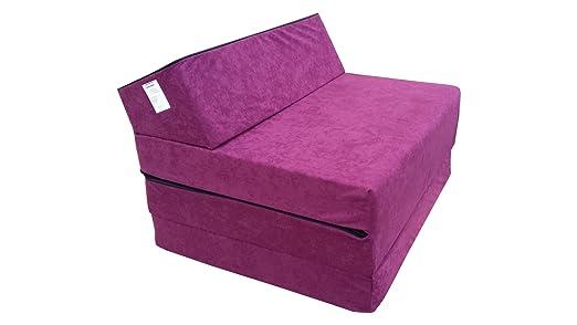Natalia Spzoo - Sillón sofá de colchón plegable, Morado