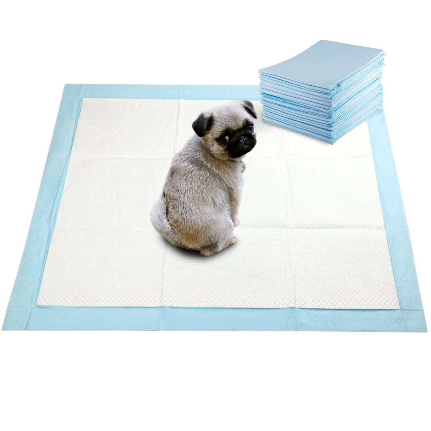 Go Buddy Super Absorbent Pet Training Puppy Pads 120 Count by GOBUDDY