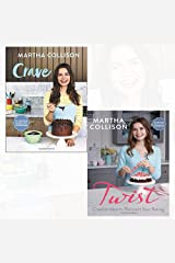 Crave and Twist 2 Books Collection Set By Martha Collison - Brilliantly indulgent recipes, Creative Ideas to Reinvent Your Baking Hardcover