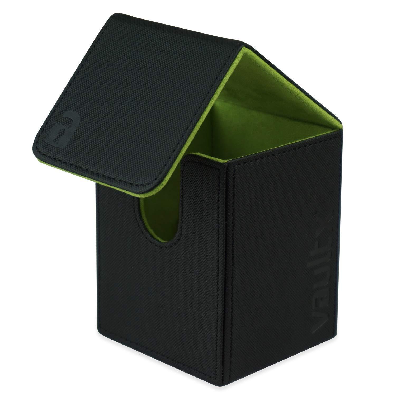 Rouge Taille Grande pour 100 Pochettes de Cartes Vault X /® Bo/îte de Jeu de Cartes et 150 Pochettes de Cartes Noire Porte-Cartes sans PVC