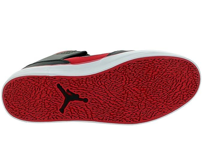 lowest price 86784 e9dcc Nike Men s - Jordan Flight 45 V - Black White Gym Red - UK 9.5   Amazon.co.uk  Shoes   Bags