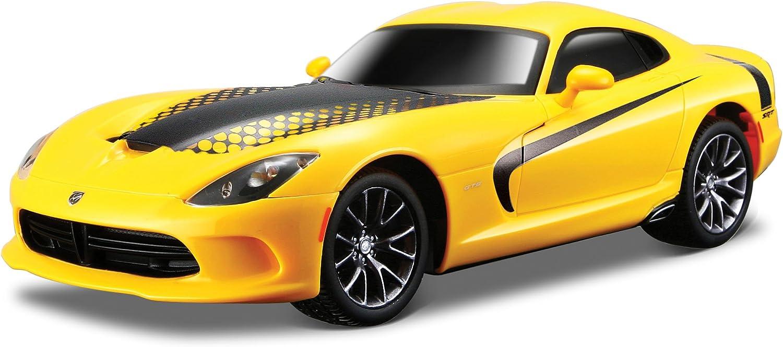 Maisto Tech MotoSounds 1/24 2013 SRT Viper GTS Amarillo-Maisto 81222, Color