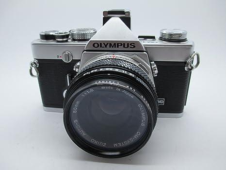 Olympus OM-1n MD + Zuiko Auto-S 50mm f1.8 cámara analogica de 35mm ...