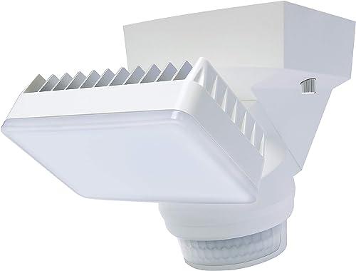 Hyperikon LED Motion Sensor Flood Light, 5000k, ETL Listed, 100 Watts