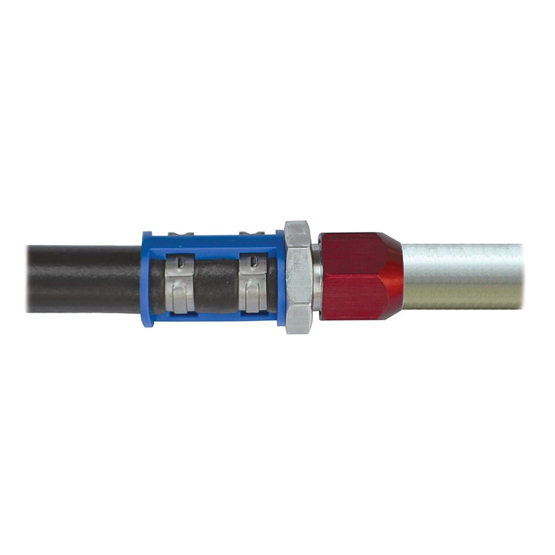 Non-Carb Compliant Airsept AIR76703 Smart Splice Straight Connector Hose 5//16 Ln-#6