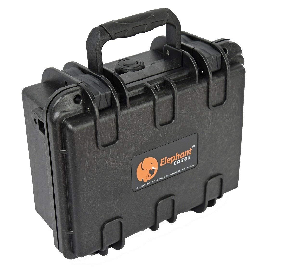 Elephant E120 Case with Foam for Camera, Video, Guns, Test and Metering Equipment Waterproof Hard Plastic Case