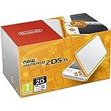 Nintendo Handheld Console - New Nintendo 2DS XL - White and Orange [Importación inglesa]
