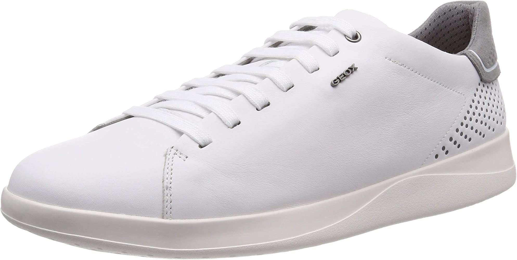 Geox U Kennet B, Baskets Basses Homme, Blanc (White C1000