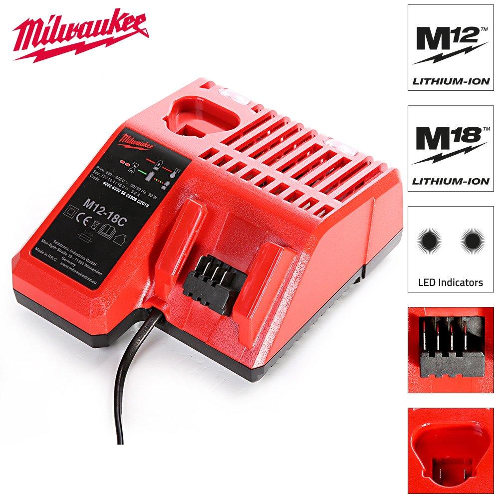 Milwaukee M12-18C - Accesorio de herramientas inalá mbricas