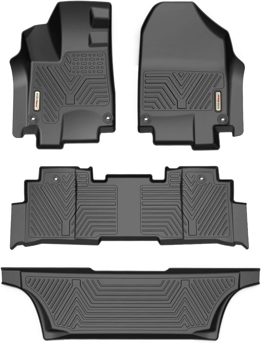 2nd /& 3rd Row All Weather Protection YITAMOTOR Floor Mats Compatible with Honda Odyssey 1st Custom Fit Floor Liners for 2018-2020 Honda Odyssey