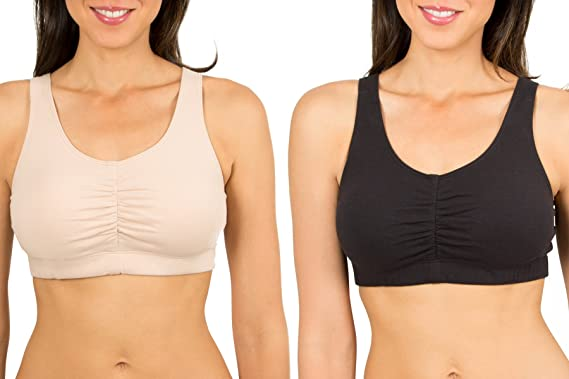 3935174396 Fruit of the Loom Women s Sport Bra with Cookies (Pack of 2) at ...