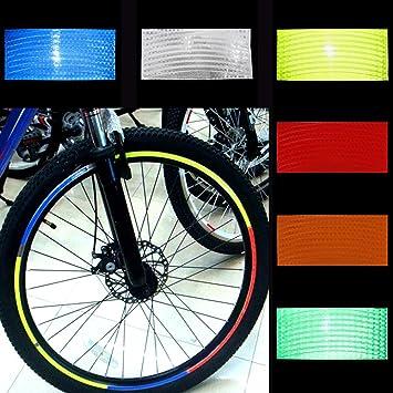 DZ838 Handlebar Mount Safe Reflector Bicycle Bike Front Rear Warning Red+White ✿