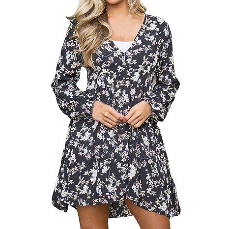 8ee469f114c2 BOLUOYI 2019 Floral Dress For Women Beach Wear