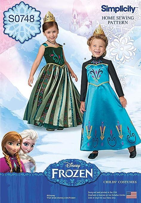 Amazon.com: Simplicity patrones de Creative s0748 Frozen ...