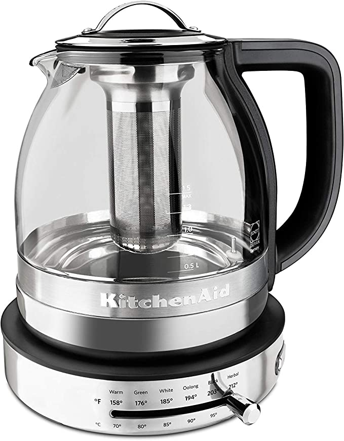 Kitchenaid Glass Tea Kettle With Infuser
