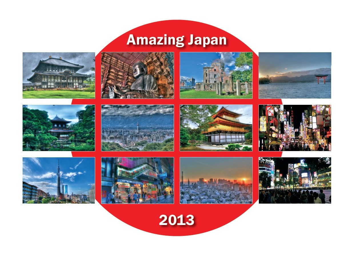 Amazing Japan 2013: Kalender Japan 2013