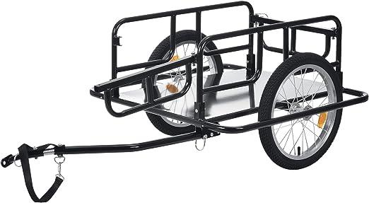 pro.tec] Remolque de Bicicleta para Carga 130 x 72 x 49 cm ...