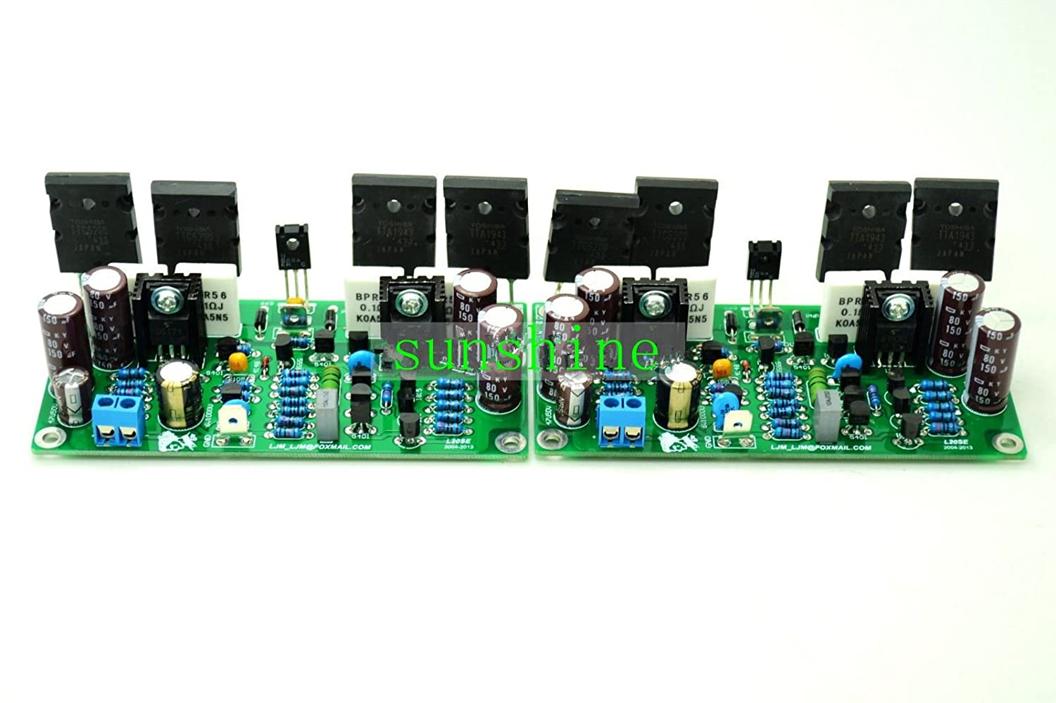 L20se Dual Channel 350w 4ohm 2sa1943 2sc5200 Original New Toshiba Integrated Circuit O 5200 1 Of See More Amplifier Board Final Home Audio Theater