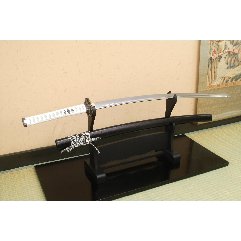Authentische Schwert Nachbildung Okita aus Japan (Mozoto) - Okita Nachbildung Soji / Kiku-ichimonji 879fe1