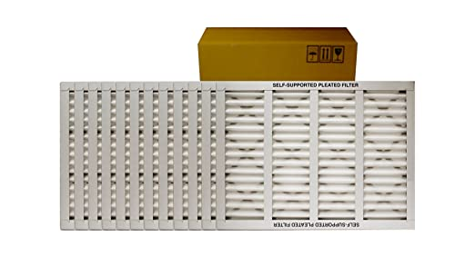 Pack of 2 Mechanical MERV 8 14 W x 14 H x 1 D Sterling Seal KP-5251079032x2 Purolator Key Pleat Extended Surface Pleated Air Filter 14 W x 14 H x 1 D Pack of 2