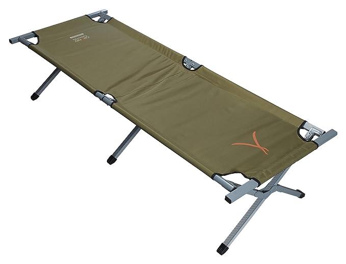 Tragkraft 150Kg Notfall f/ür Camping Outdoor 210 x 64 x 42 cm Aluminium faltbar verschiedene farben Feld-// G/ästebett Grand Canyon Campingbett Extra Strong L