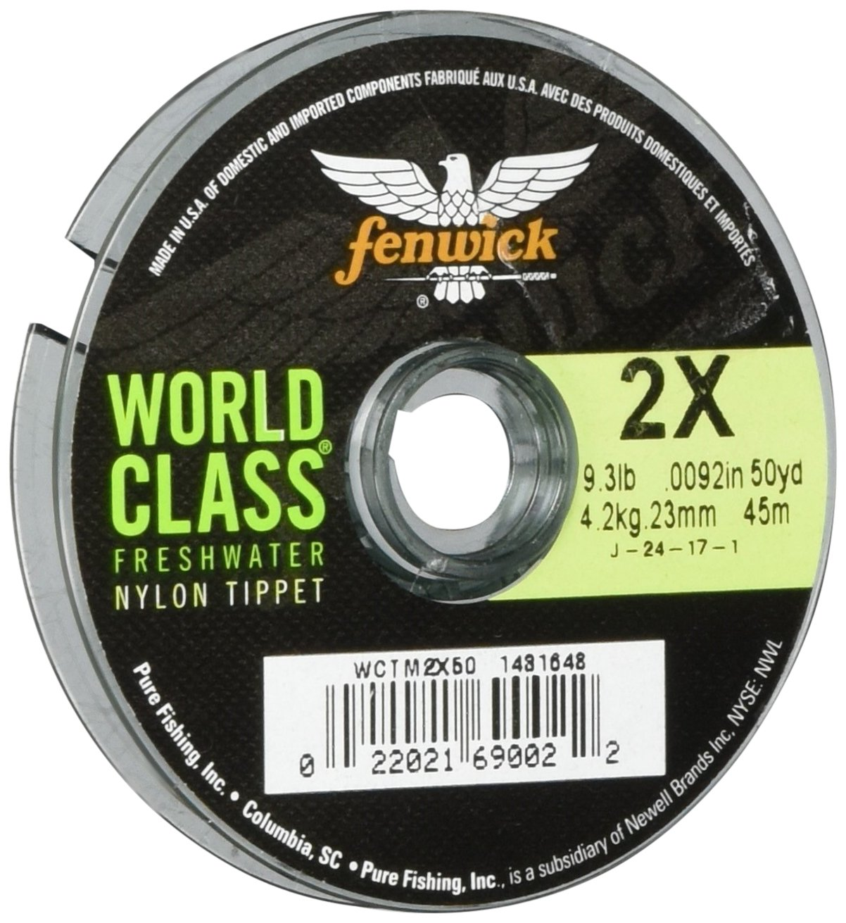 Fenwick Wctm2X50 World Class Freshwater Nylon Tippet 50 Yd 9 Lb Amazoncouk Sports Outdoors