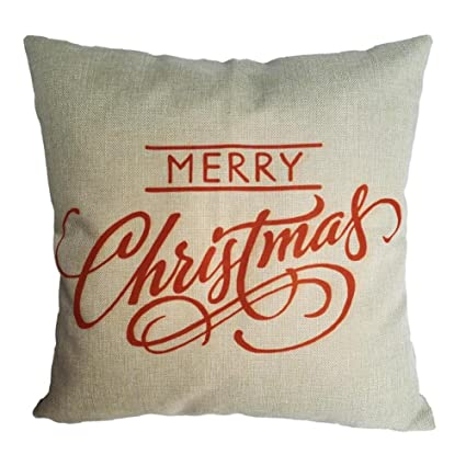 sankuwen home decoration pillowcase christmas pillow cushion cover merry christmas